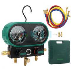 Manometry klimatyzacji R134a R404a R410a