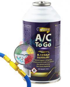 Zestaw do napełniania klimatyzacji samochodowej AcToGo R-1234yf
