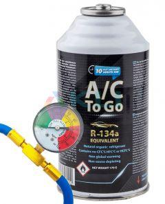Zestaw do napełniania klimatyzacji samochodowej AcToGo R-134a