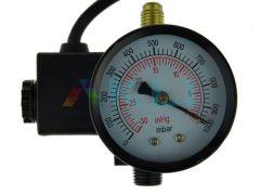 Wakuometr z elektrozaworem