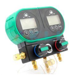Manometry chłodnicze elektroniczne R32 R410a R404a R407c R134a R1234yf  R600a R507