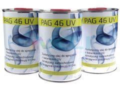 Olej do klimatyzacji Pag 46 z barwnikiem UV 1L