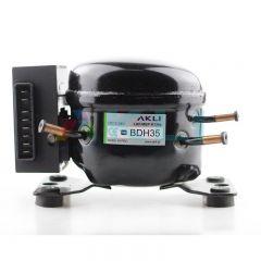 Sprężarka chłodnicza BDH35 zamiennik za Secop Danfoss BD35F 12V 24V R134a