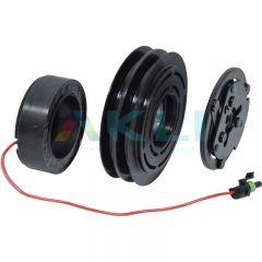 Sprzęgło kompresora klimatyzacji Sanden SD7H15 132mm 2A