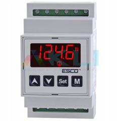 Regulator temperatury sterownik Esco ES-10D 230V na szynę DIN