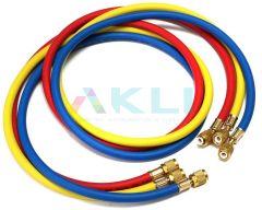 Przewód serwisowy klimatyzacji 150cm 1/4SAE 3 szt.