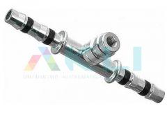 Łącznik przewodu frigoclic G6 8mm z portem serwisowym wysokim C30015-06-06