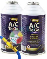 Podwójny zestaw do napełniania klimatyzacji samochodowej AcToGo R-1234yf