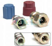 Zestaw adapterów na niskie i wysokie ciśnienie z R12 na R134a