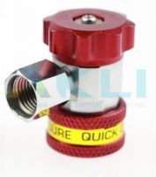Szybkozłącze serwisowe TEXA Robinair Ecotechnics R134a M14x1,5 czerwone