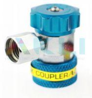 Szybkozłącze serwisowe TEXA Robinair Ecotechnics M14x1,5 niebieskie