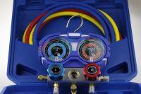 Manometry chłodnicze R1234yf HFO z wężami serwisowymi 120cm